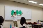 同音異綴りの教室掲示の例。