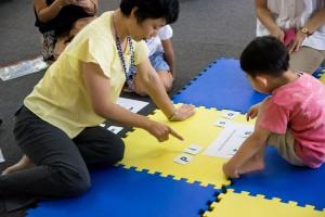 (6) セグメンティングのアクティビティでカードを選ぶ