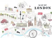 map of London 001