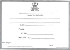 invitation card 001